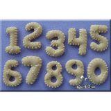Mulaj silicon Cifre cu Petice