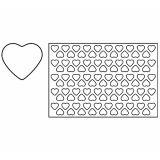 Placa decupare aluat/decor inima Ø4.8 cm