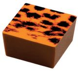 Set 15 Folii Transfer Decor Ciocolata Portocaliu, 40x25cm