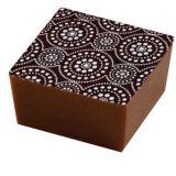 Set 20 Folii Transfer Decor Ciocolata Alb, 40x25cm