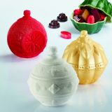 Globuri Craciun 3D, 3 Modele - Kit Matrite Plastic 3 Subiecte