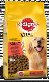 Hrana pentru caini Pedigree adult vita si pasare 15kg