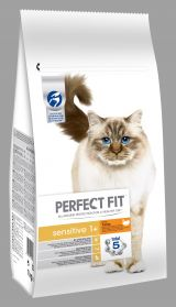 Hrana pentru pisica Perfect fit SENSITIVE curcan 7kg