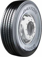 315/80R22.5 156/150L Dayton D500S - Made by Bridgestone