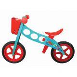 Bicicleta fara pedale (pedagogica) 'NFUN 'NRIDE POLLOCK, Rosu/Albastru