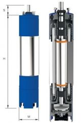 Motor submersibil de 6`` 400V 5.5 kw