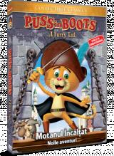 Motanul Incaltat: Noile aventuri / Puss In Boots: A Furry Tale - DVD