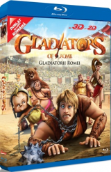 Gladiatorii Romei / Gladiators of Rome - BLU-RAY 3D si 2D