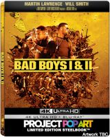 Baieti rai I + II  / Bad Boys I + II - UHD (4K Ultra HD + Blu-ray) (Steelbook editie limitata)