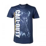 CALL OF DUTY ADVANCED WARFARE SOLDIER BLUE TSHIRT XL