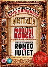 Baz Luhrmann Epic Romances (Australia, Moulin Rouge, Romeo + Juliet - DVD) + 1CD