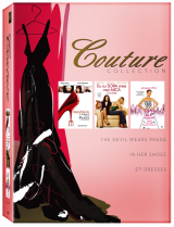 Couture Collection (Devil Wears Prada, In Her Shoes, 27 Dresses) - 3 filme DVD