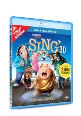 Hai sa cantam! / Sing - BLU-RAY 3D + DVD