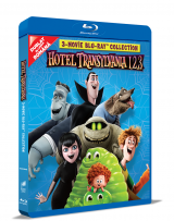 Hotel Transilvania 1, 2, 3: Colectie de 3 filme pe BLU-RAY / Hotel Transylvania 1, 2, 3 Movie BLU-RAY Collection