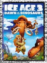 Ice Age 3: Dawn of the Dinosaurs (2 disc Lenticular) / Epoca de Gheata 3: Aparitia Dinozaurilor - Promo Lenticular - 2 discuri - DVD