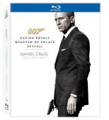 James Bond: Daniel Craig Collection (Casino Royale, Quantum of Solace, Skyfall) (3 filme) - BLU-RAY