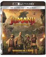 Jumanji: Aventura in jungla / Jumanji: Welcome to the Jungle - UHD 2 discuri (4K Ultra HD + Blu-ray)