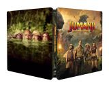 Jumanji: Aventura in jungla / Jumanji: Welcome to the Jungle - BLU-RAY 3D + 2D (Steelbook)