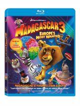 Madagascar 3: Fugariti prin Europa / Madagascar 3: Europes Most Wanted - BLU-RAY