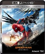 Omul-Paianjen: Intoarcerea acasa / Spider-Man: Homecoming - BD 2 discuri (4K Ultra HD + Blu-ray)