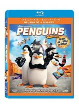 Pinguinii din Madagascar / Penguins of Madagascar - Deluxe Edition BLU-RAY combo 3D + 2D