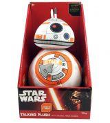 Plus BB8 (cu sonor) din Star Wars / Razboiul Stelelor (24 cm)