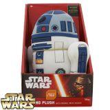 Plus R2-D2 (cu sonor) din Star Wars / Razboiul Stelelor (24 cm)