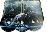 Prometheus - BLU-RAY 3D (Steelbook - 3 discuri)