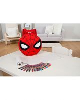 Rucsac Spider-Man cu set creioane colorate (Spider-Man backpack with colouring set)