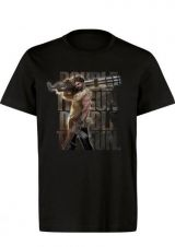 SERIOUS SAM DOUBLE THE GUN, DOUBLE THE FUN TSHIRT L