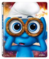 Strumpfii (Strumfii): Satul pierdut / Smurfs: The Lost Village - BD + DVD (Steelbook)