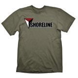 UNCHARTED 4 SHORELINE ARMY TSHIRT L