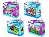 4 puzzle-uri asortate pentru fete