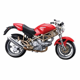 1:18 CYCLE - DUCATI MONSTER 900 - ROSU