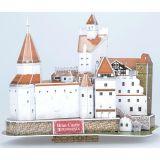 Castelul Bran Romania - Puzzle 3D - 93 de piese