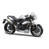 1:18 CYCLE - TRIUMPH SPEED TRIPLE 2011 - NEGRU