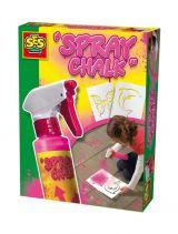 Set spray si sabloane pentru creatie