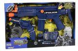 Set 2 arme politie  plus accesorii