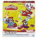 Play-Doh figurine Marvel setul de plastilină cu vehicule