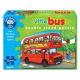 Puzzle fata verso Autobuz (12 piese)