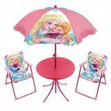 Set gradina format din masa , scaune si umbrela