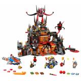 LEGO NEXO KNIGHTS Volcano Baza lui Jestro 70323