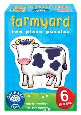 Set 6 puzzle Ferma (2 piese)