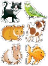 Set 6 puzzle Animale de companie (2 piese)