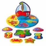 Puzzle plutitor baie
