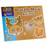 Masca din puzzle - animale