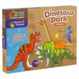 Set de creatie - parcul dinozaurilor