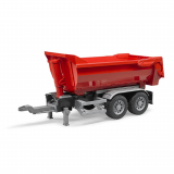 MINIMODELE 1:16 BR4A - Half Pipe trailer for trucks