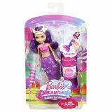 Papusa Barbie Sirena mica balonase de sapun