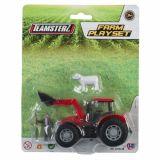Set constructie - tractor rosu